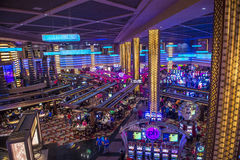 Las Vegas planet Hollywood arkivfoton