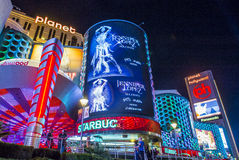 Las Vegas , Planet Hollywood Royalty Free Stock Images