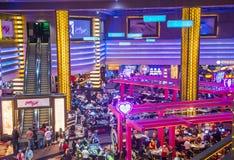 Las Vegas, planète Hollywood Photo libre de droits