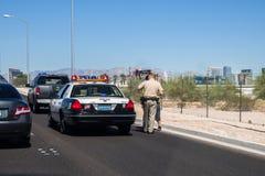 Las Vegas Police Stock Photo