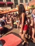 Las Vegas-Pool-Party im venetianischen Kasinohotel Tao Lizenzfreie Stockfotos