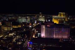 Las Vegas por noche Foto de archivo libre de regalías