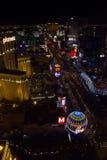 Las Vegas por noche Fotografía de archivo