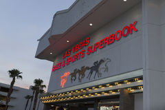 Las Vegas port Superbook arkivfoton