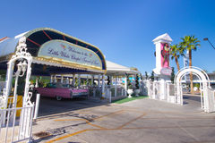 Las Vegas épousant la chapelle Photographie stock libre de droits