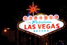 las Vegas powitanie Zdjęcie Royalty Free