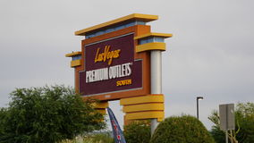 Las Vegas Premium Outlets South in Nevada Stock Images