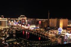 Las Vegas przy Noc Obrazy Stock