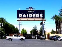 Las vegas Raiders royalty free stock photos
