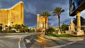 Las Vegas remsa, kasino för Mandalay fjärdhotell royaltyfria foton
