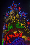 Las Vegas , Riviera Royalty Free Stock Photography