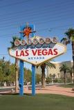Las Vegas Roadsign. Stock Photography
