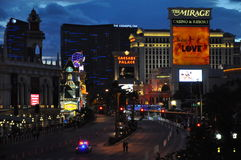 Las Vegas Rock 'n' Roll Marathon stock image