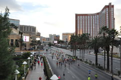 Las Vegas Rock 'n' Roll Marathon stock photo