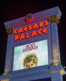 Las Vegas, Rod Stewart Zdjęcie Stock