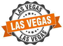 Las Vegas round seal stock illustration