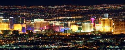 Las Vegas sławny Pasek Zdjęcia Royalty Free