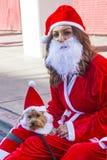 Las Vegas Santa Wielki bieg Fotografia Stock