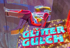 Las Vegas, scintillement Gulch Photo stock