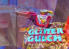 Las Vegas, scintillement Gulch Photographie stock