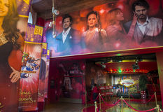 Las Vegas, senhora Tussauds Fotos de Stock Royalty Free