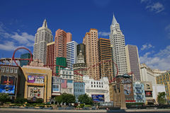 LAS VEGAS - SEP 4: New York-New York hotel casino creating the i Stock Photo