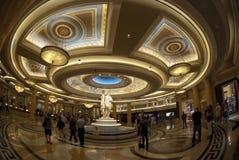 LAS VEGAS - SEPTEMBER 25: Caesars slottmottagande Fotografering för Bildbyråer