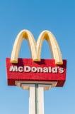 Las Vegas - 10 septembre 2010 : Logo de McDonald le 10 septembre dedans Image stock