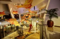 Las Vegas Shopping Mall royalty free stock photography