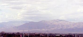 Las Vegas Sierra Nevada Mountains LV1. Image of the Sierra Nevada Mountains from the Vegas strip in Las Vegas, Nevada Royalty Free Stock Photography