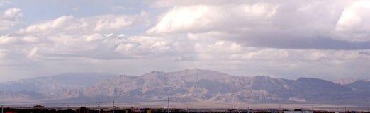 Las Vegas Sierra Nevada Mountains LV2. Image of the Sierra Nevada Mountains from the Vegas strip in Las Vegas, Nevada Stock Photo