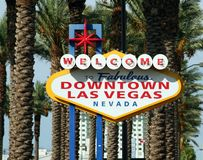 Las vegas sign Royalty Free Stock Image