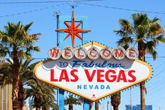 Las Vegas sign Stock Photo