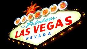Las Vegas Sign 3 stock footage