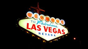 Las Vegas Sign 4 stock video