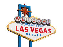Las Vegas Sign Isolated Stock Images