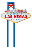 Las vegas sign isolated on white stock image