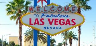 Las Vegas Sign, Las Vegas, Nevada, USA Royalty Free Stock Photography