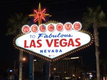 Las Vegas Sign stock images