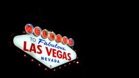Las Vegas sign.