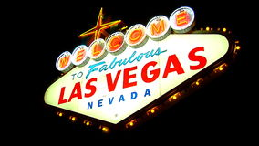 Las Vegas Sign SNAP 4 stock video footage