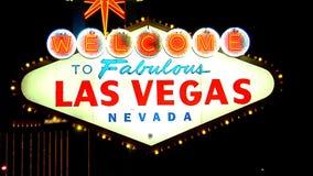Las Vegas Sign SNAP 5 stock video footage