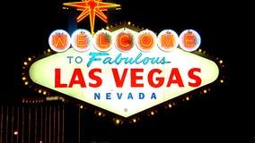 Las Vegas Sign SNAP 1 stock video footage