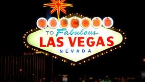 Las Vegas Sign SNAP 2 stock video footage