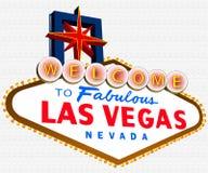 Las Vegas Sign with vector Stock Photos