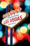 Las Vegas Sign Royalty Free Stock Photography