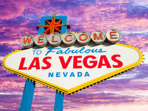 Las Vegas Sign Royalty Free Stock Photos