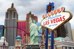 Las Vegas Sign Stock Photography