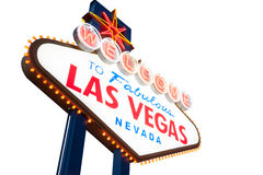 Las Vegas Sign Royalty Free Stock Images