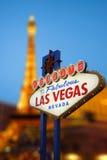 Las Vegas Sign Stock Photography